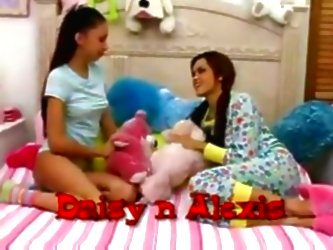Hot Teens Give Babysitter A Grea...