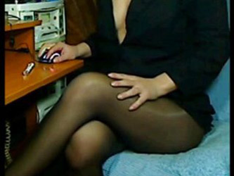 pantyhose on video