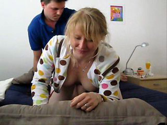 Big titted german girl doggyfucked