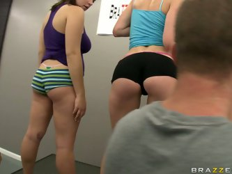 Jessica Moore and two more bootylicious babes...