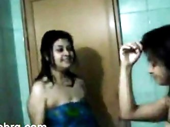 North Indian Girls dancing after BATH ( NON NUDE)