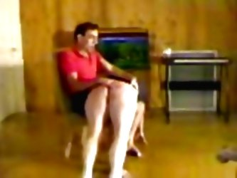 Girl Gets Spanked Over The Knees