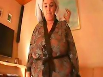 Clips Of Different Grannies Showing Off Their...