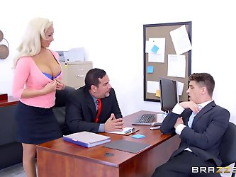 Brazzers - Olivia Fox - Big Tits at Work